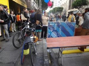 Spring Bike Parking