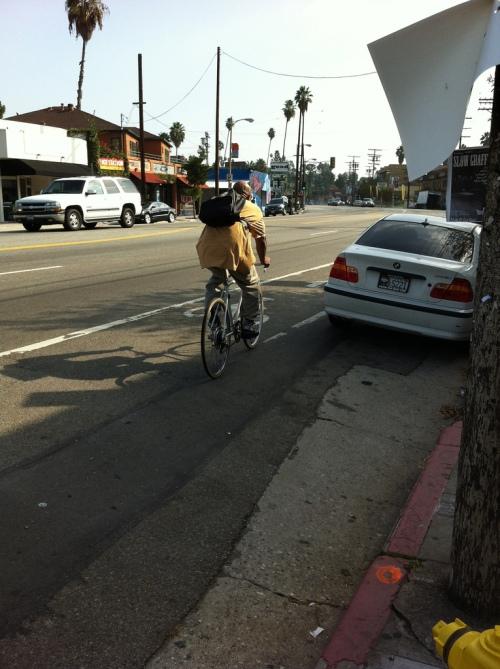 Sunset Blvd. Bicycle Lane