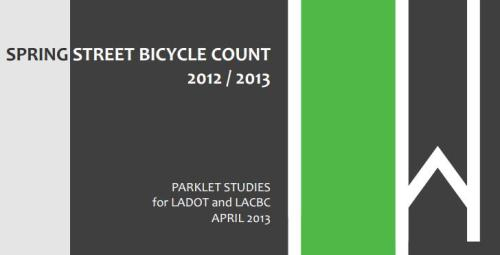 SpringStreetBicycleCount2013