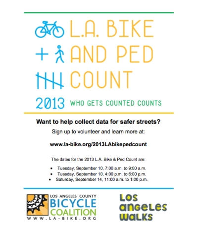 LACBC Bike Count Flyer