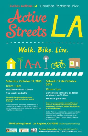 Flier for Active Streets 10/19 event. (Credit: Los Angeles County Bicycle Coalition la-bike.org)