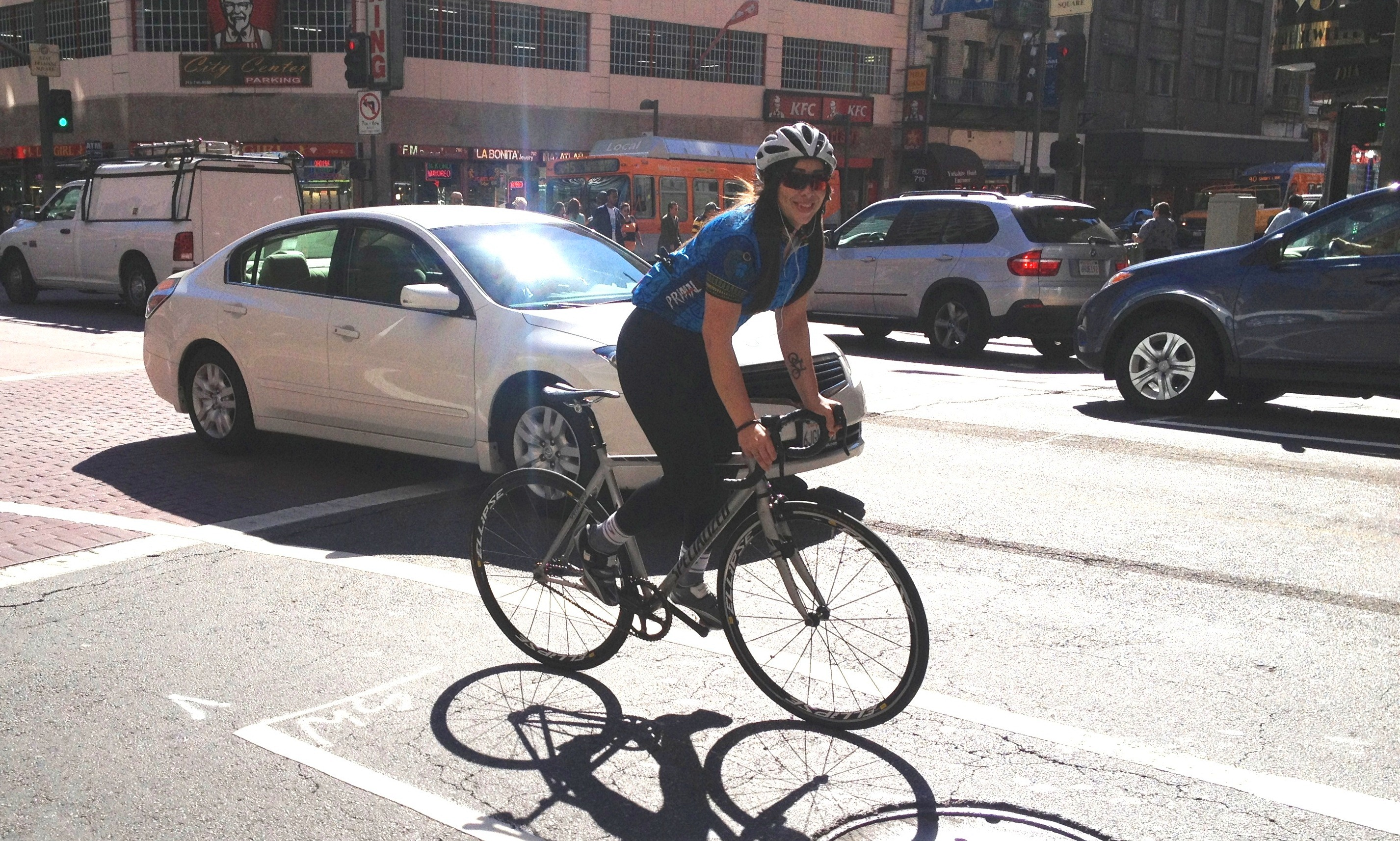 7th Street Status Update Ladot Bike Blog