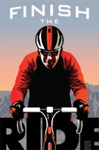 Sunday, April 27th 8:00 AM. The ride starts at 4810 Sunset Blvd and finishes at the Autry Museum in Griffith Park. Credit: Finish The Ride